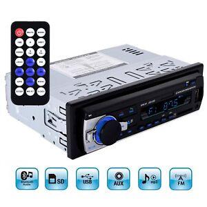 Car-Bluetooth-In-Dash-Radio-Stereo-Audio-Head-Unit-Player-MP3-USB-SD-AUX-IN-FM