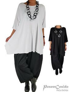 PoCo DeSiGn LAGENLOOK Tunika Long-Shirt  44 46 48 50 52 54 56 58 L-XL-XXL-XXXL