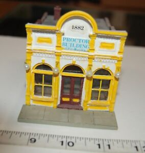 Lot-11-178-HO-Scale-Assembled-amp-Painted-034-Mail-Pouch-Tobacco-Proctor-Building-034