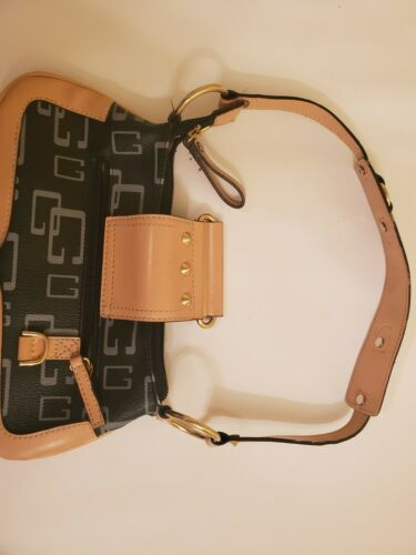 Guess Vintage Womens Longboom  Mini Bag with Studs