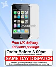 LCD Screen Protector For Iphone 3GS FILM ultra clear 1st class Royal mail