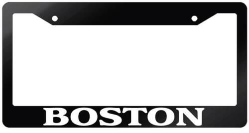 Glossy Black License Plate Frame BOSTON Auto Accessory 1142