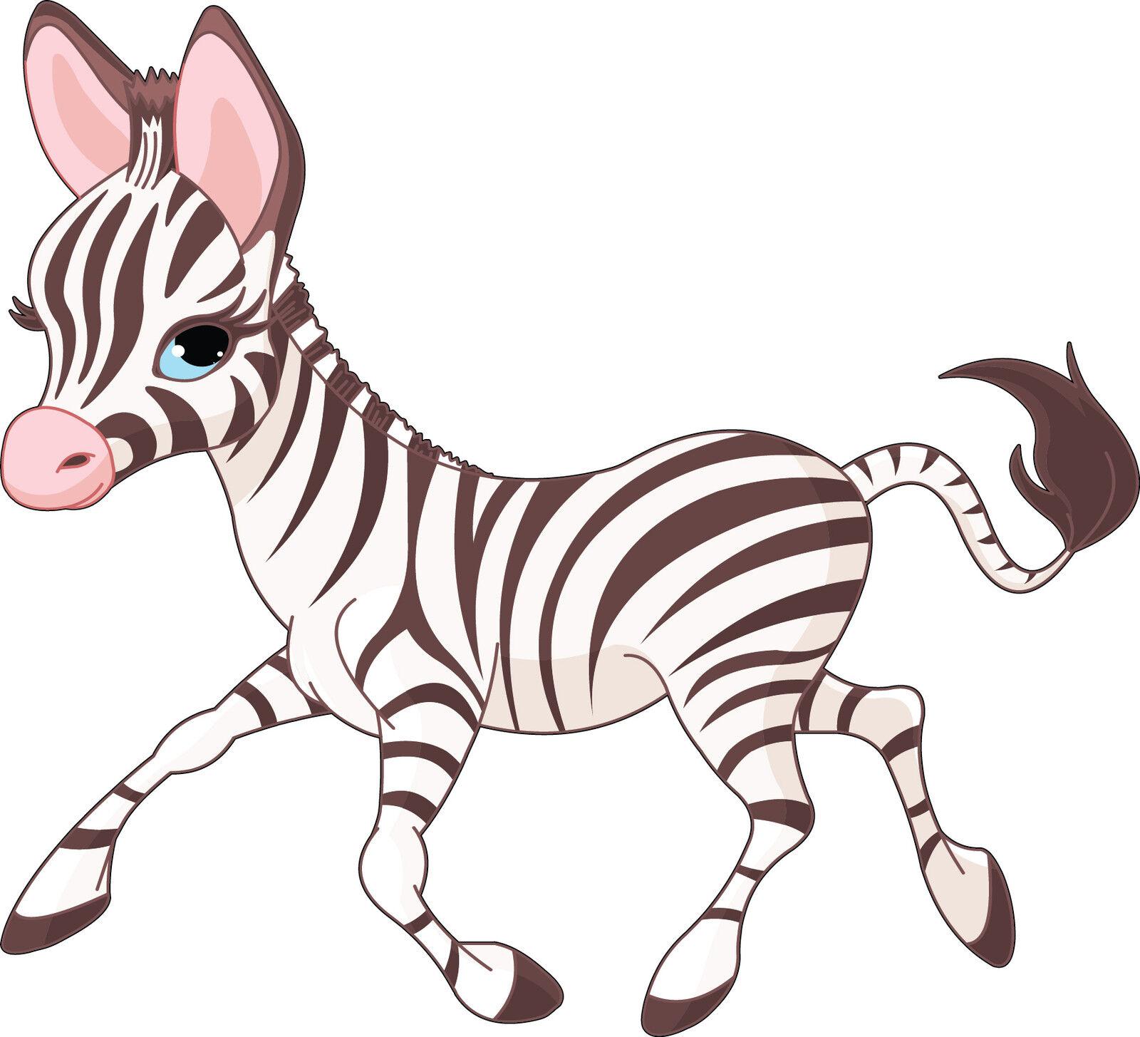Adesivi murale bambino Zebra Zebra Zebra ref 3546 (Dimensioni da 10 cm a 130cm di larghezza) c1e978