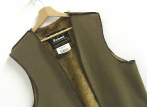 BARBOUR-Warm-Pile-Lining-Faux-Fur-Acrylic-Liner-Insert-Gilet-for-Wax-Jacket