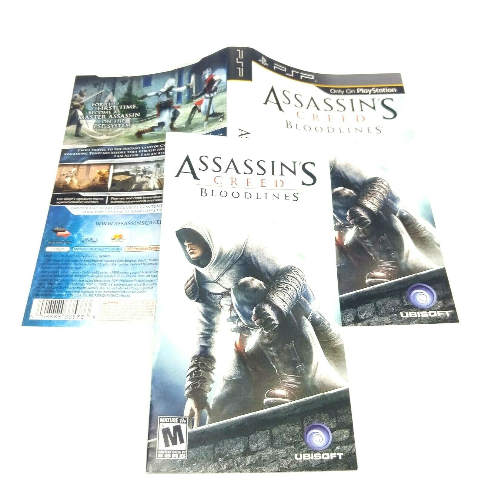 Assassin S Creed Bloodlines Sony Psp 2009 For Sale Online Ebay