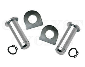 MOTOKU Foot Peg Mounting Bolts with D-Washers for Harley