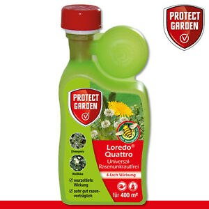 Protect Garden 400ml Loredo Quattro Universal-Rasenunkrautfrei Weißklee Wegerich