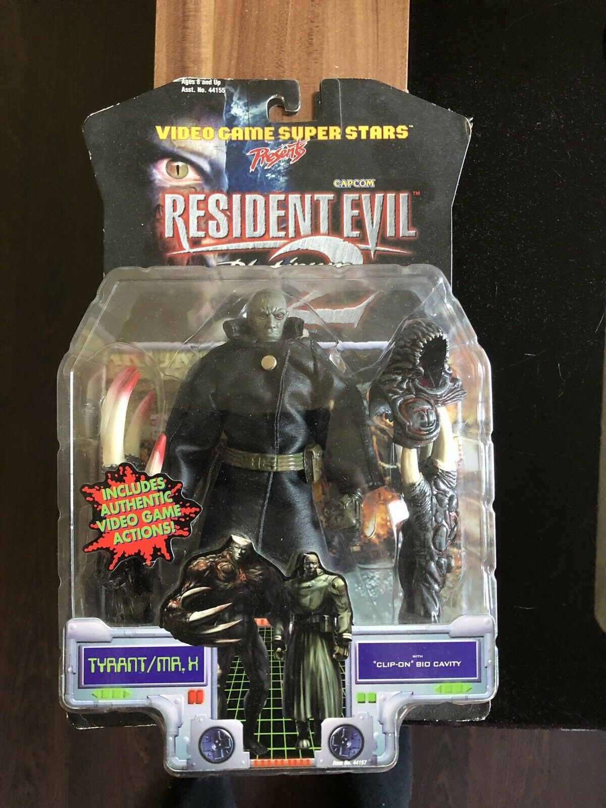Resident Evil 2 Platinum - Tyrant   Mr. X  - Toy Biz- NEU - RAR