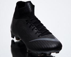 buy popular d26ae 5355f Image is loading Nike-Mercurial-Superfly-VI-Pro-FG-Men-Black-
