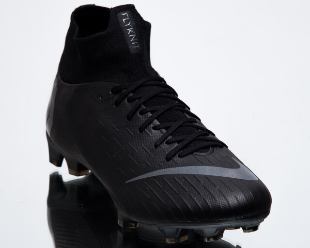 save off 26f9d a863a Nike Mercurial Superfly 6 Pro FG Cleats Black Ah7368 001 Men's US 8.5