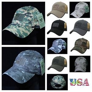 eb49be1f800 Baseball Cap U.S.Flag Trucker Fashion Camo Army Military Tactical ...