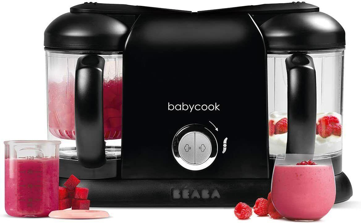 BÉABA Babycook Duo, Robot de cocina infantil 4 en 1, Tritura, cocina...