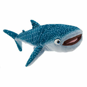 22 L Finding Dory Destiny Plush Stuffed Whale Shark Toy Doll Disney