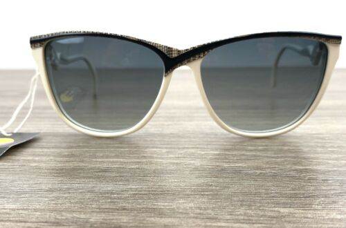 Vintage Albert Nipon 1980s Sunglasses White With A