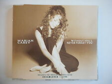 MARIAH CAREY : WITHOUT YOU & NEVER FORGET YOU || CD SINGLE ~ PORT GRATUIT !