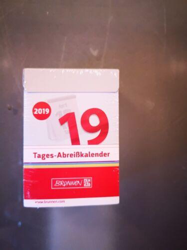 Kalender 2019 Abreißkalender Brunnen Tagesabreisskalender Nr.4 ca 7 x 10,2 cm