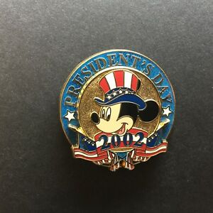 12-Months-of-Magic-President-039-s-Day-2002-Mickey-Mouse-Disney-Pin-9406
