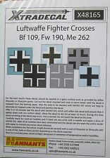 Xtradecal 1/48 X48165 WW2 Luftwaffe Fighter Crosses Decal Sheet