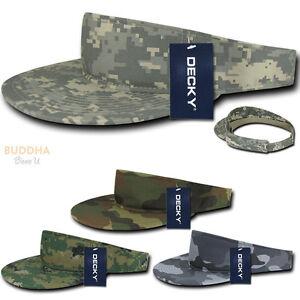 DECKY Pre Curved Bill Camouflage Camo Golf Summer Sun Beach Acyrlic ... 468db3f3cad