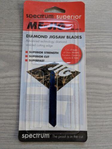 Spectrum Diamond Superior MF-JIG//1 Diamond Jigsaw Blades