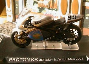 MOTO-BIKE-PROTON-KR-99-JEREMY-MCWILLIAMS-2002-1-24-NEW-GP-IXO-ALTAYA