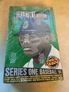 1994-Upper-Deck-Collectors-Choice-Series-One-Unopened-Foil-Pack-Box-36-Packs