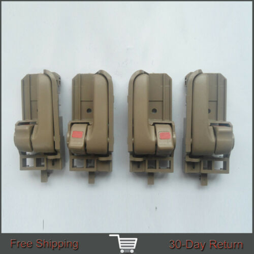 Fit Toyota Corolla Tacoma Inside Beige Driver Left Right Side Door Handle 03-08