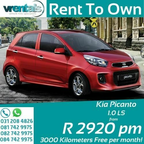Get a Kia Picanto On Rent to Own in KZN