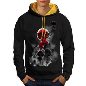 contrasto Art New Mystic cappuccio Fashion cappuccio a Felpa uomo con oro nera 0qpgWtw