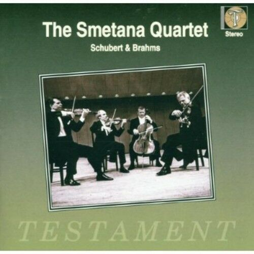 Smetana Quartet - String Quartets By Schubert & Brahms [New CD]