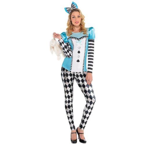 Donna ADULTA Alice Costume Accessori Costume Paese Delle Meraviglie Fiaba libro settimana