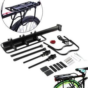Bicycle-Carrier-Rear-Rack-Fender-Luggage-Rack-Seat-Quick-Release-Metal-Pannier