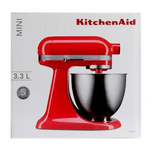 Kitchenaid 5KSM3311X Rudi Artigiano Mini Robot da Cucina Rosso 3,3L ...