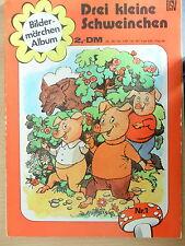 1  x Comic - Bildermärchen-Album - Nr. 1 - Drei kleine Schweinchen - bsv