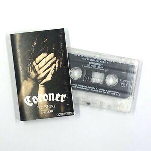 CORONER Cassette Tape No More Color 1989 Thrash Speed Metal Rare #2