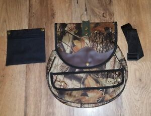 Falconry-Cordura-Bag-Hunting-Bag-with-Strap-amp-Detachable-Meat-Pocket-New-Camo