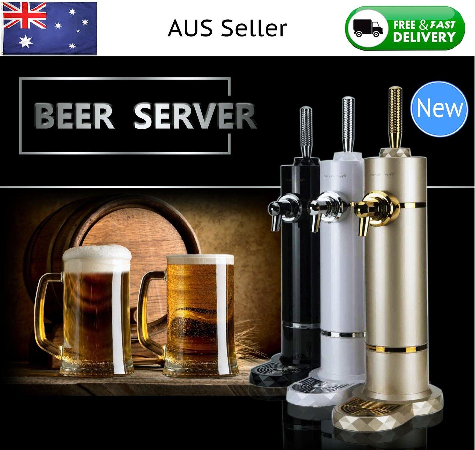 NEW Beer Server Dispenser Premium Super Draft Malts Can Bottle Xmas Day Gift1