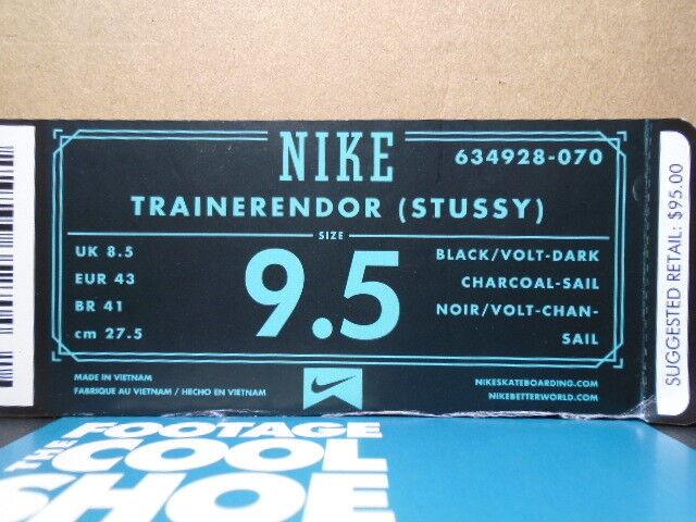 Nike dunk luft trainerendor sb trainer - trainer sb stussy schwarz - weiß - grüne endor 1 5 38d961