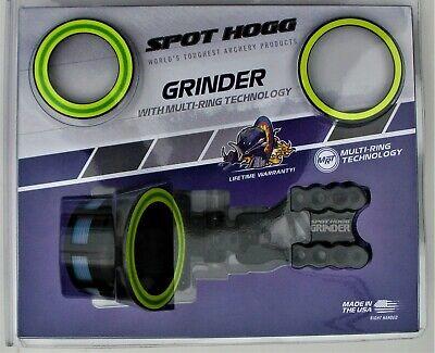 Spot Hogg Grinder MRT Micro 5 Pin Bow Sight .010 Pins Right Hand GR5MRH10