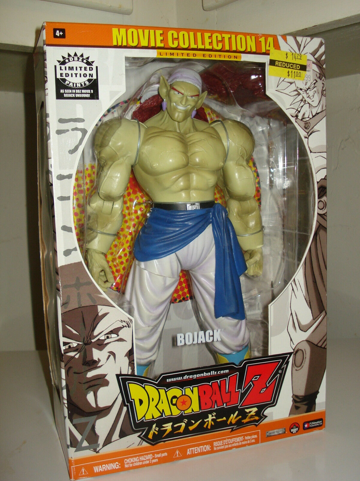 Dragonball Z Movie Collection 14 Bojack 10  Nuevo Hasbro