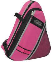 Messenger Sling Body Bag Backpack Pink School Shoulder Day Hiking Cross Body
