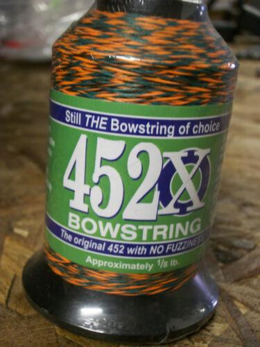 BCY 452X Bowstring-matériau 1//4lb Automne Coucher de Soleil//Vert