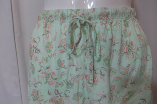 Womens Aria 2 Piece Pajamas Set PJ/'s Print Button Front Top 1X OR 3X  Mint New