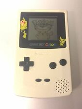 Mint Condition Nintendo Gameboy Color - Pokemon Pikachu Special Edition!