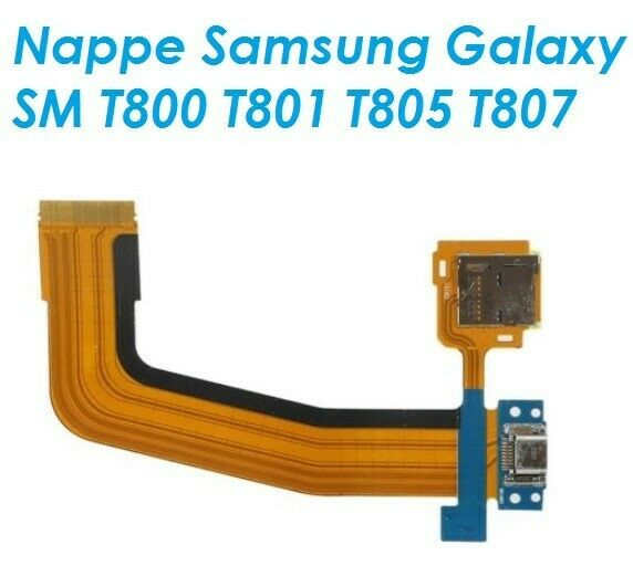 Port de charge connecteur flex cable pour samsung galaxy tab s 10.5 sm-t800