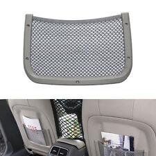 Rear Seat Back Storage Luggage Organizer Holder Mesh Cargo Pouch Net Pocket Gray
