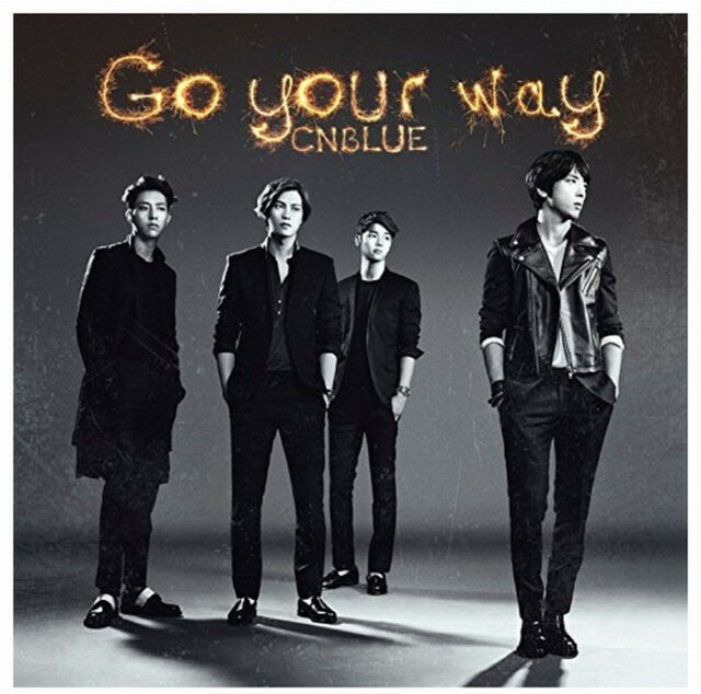 CNBLUE Japan 8th Single [Go your way] Type B (CD + DVD) Limited Edition