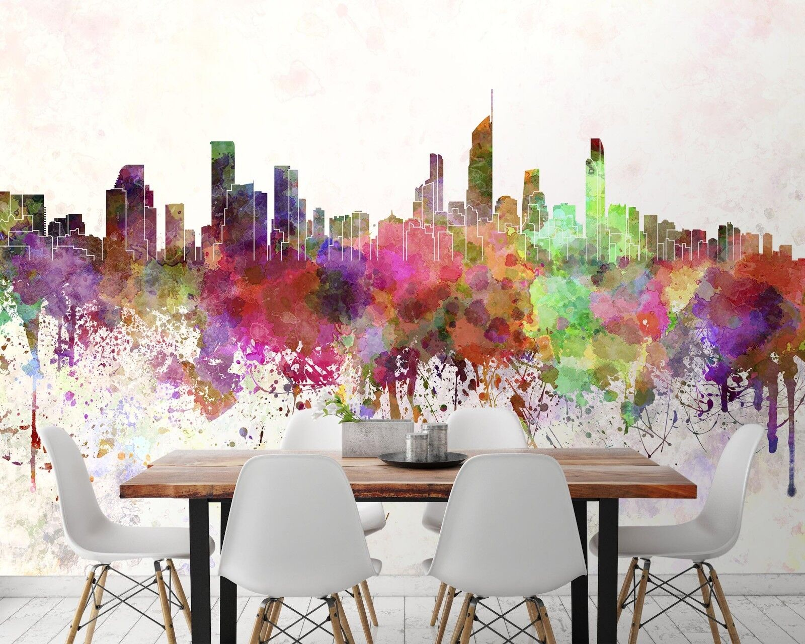 3D rot City 7116 Wall Paper Print Wall Decal Deco Indoor Wall Murals US Summer