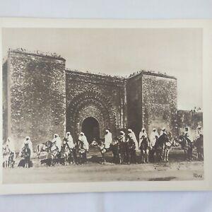 Photo-Flandrin-Rare-large-Heliograph-Editions-Mars-15-Maroc-Cavaliers