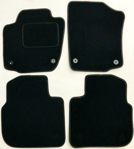2012 naht Rot Seat Toledo 4 Fußmatten Premium Automatten ab Bj